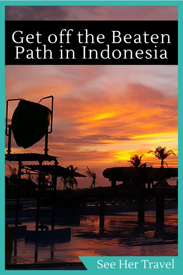 Getting off the beaten bath can be tough in Southeast Asia, but Indonesia has so many islands, you can very easily find yourself checking out very cool hotspots right on Java!