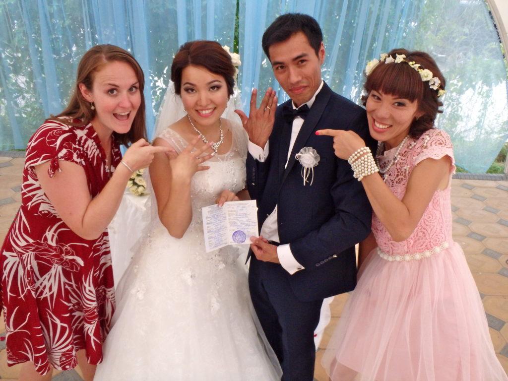 attend a kyrgyz wedding