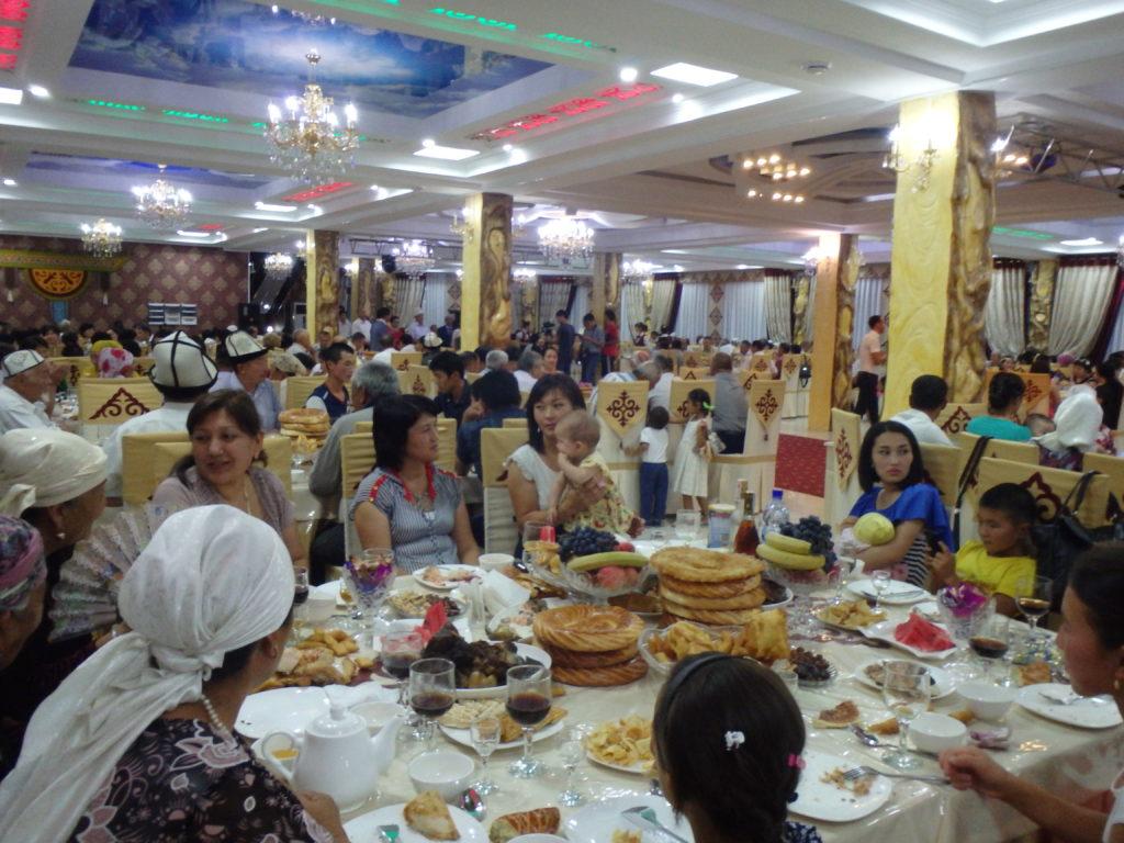 Kyrgyzstan culture wedding