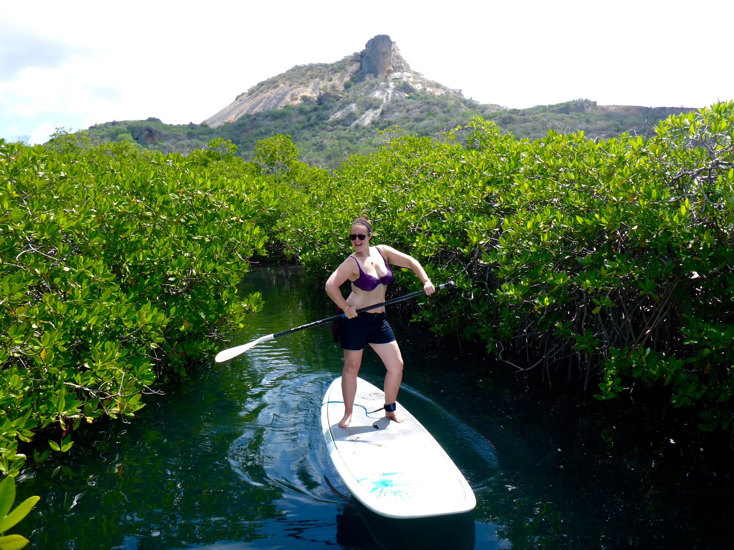 table mountain paddleboarding tour in curacao SUP curacao
