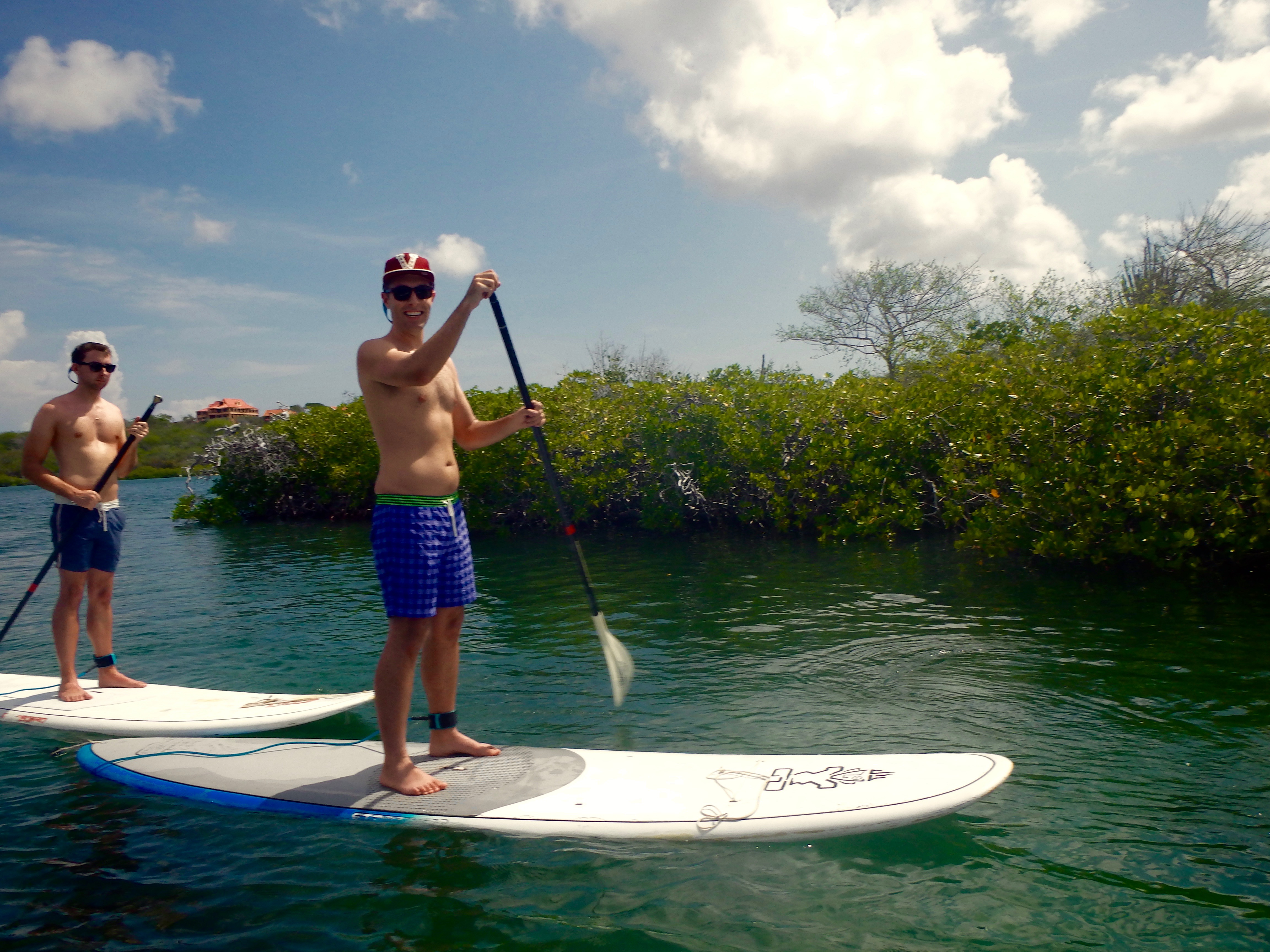 paddleboarding tour in curacao