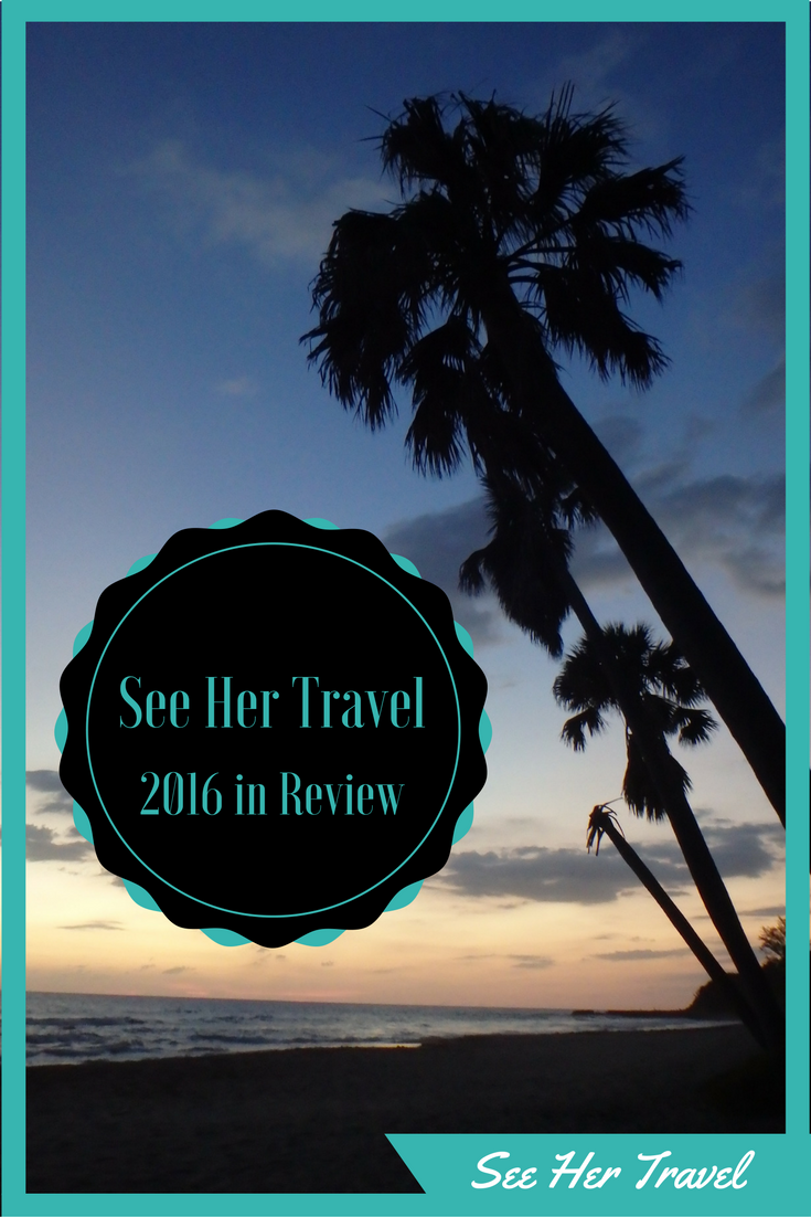 See Her Travel's 2016 year in review wherein Emily gets nostalgic for her travels through Cuba, Jamaica, Guyana, Curacao, St. Lucia and Barbados, as well as running a half marathon, adopting a kitten and starting a blog!