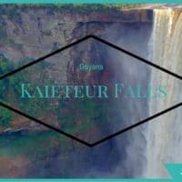 Kaieteur Falls: The Largest Single Drop Waterfall in the World in Kaieteur National Park