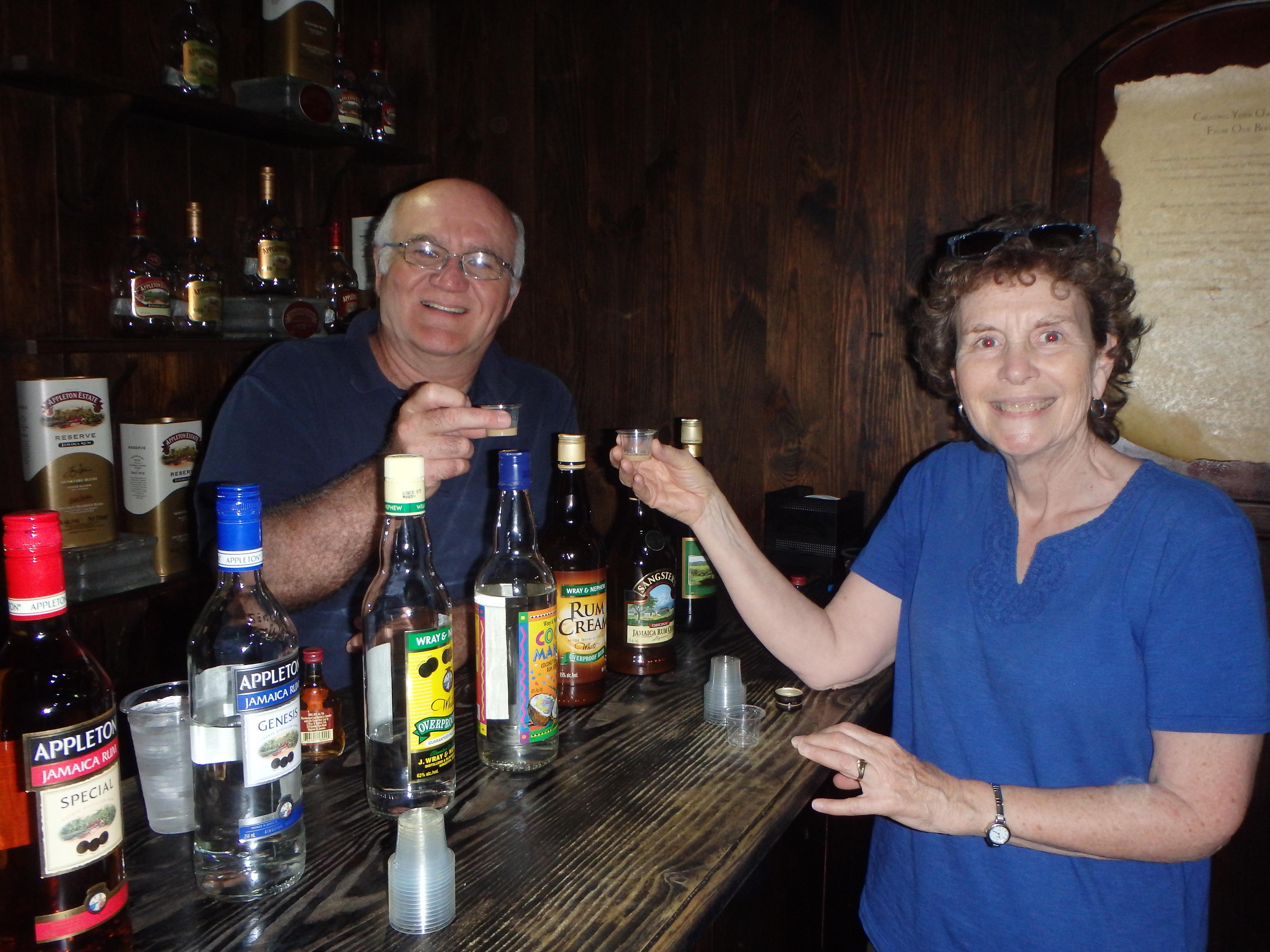 Appleton Rum Tour tasting Jamaica