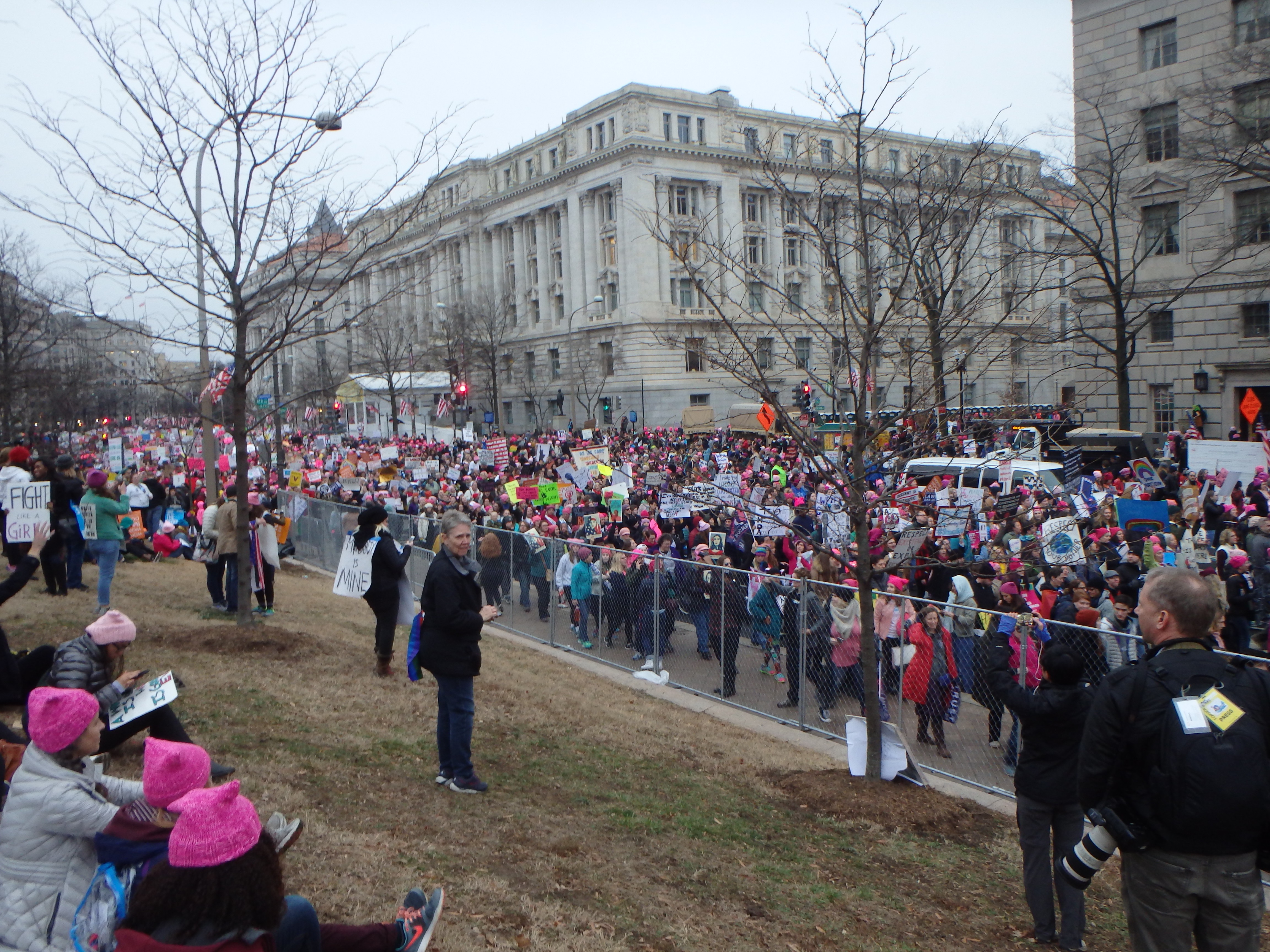 Washington DC Womens march experience travel blog