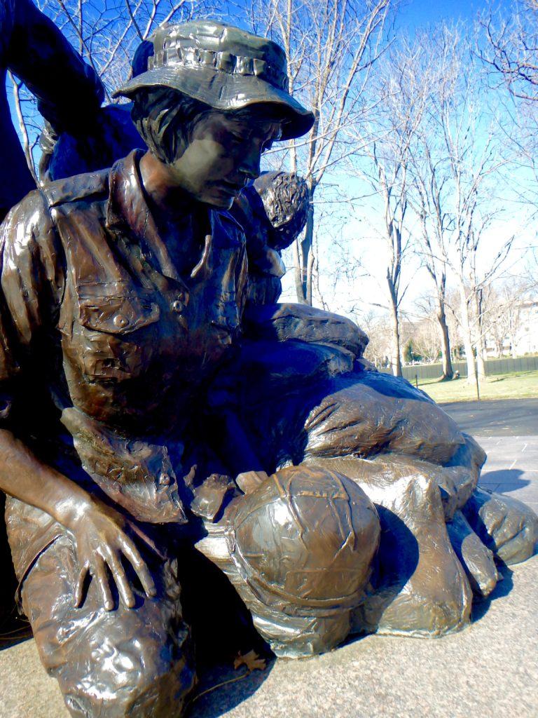 Vietnam women's memorial in washington DC