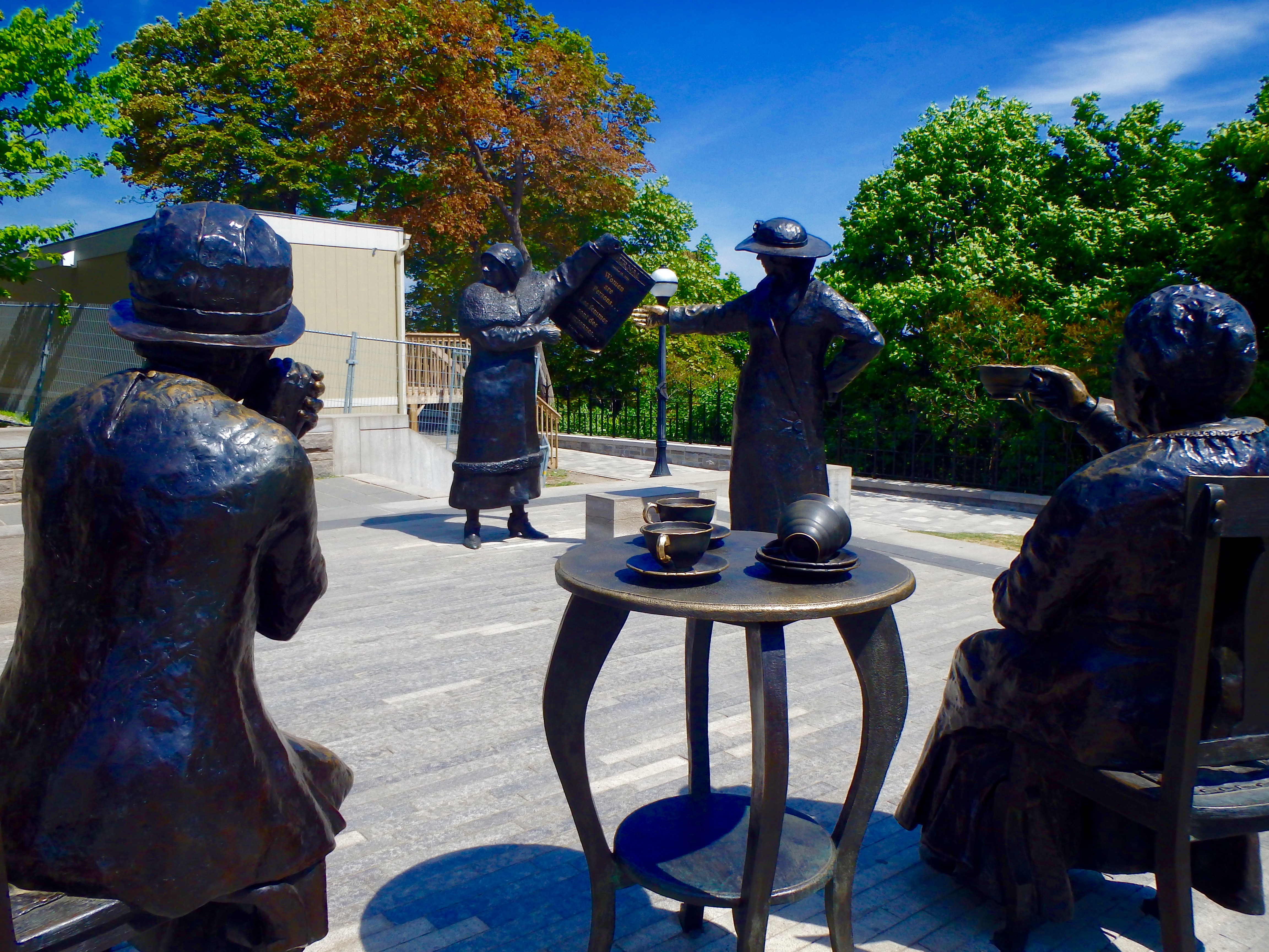 famous five memorial parliament hill ottawa important things to see in ottawa