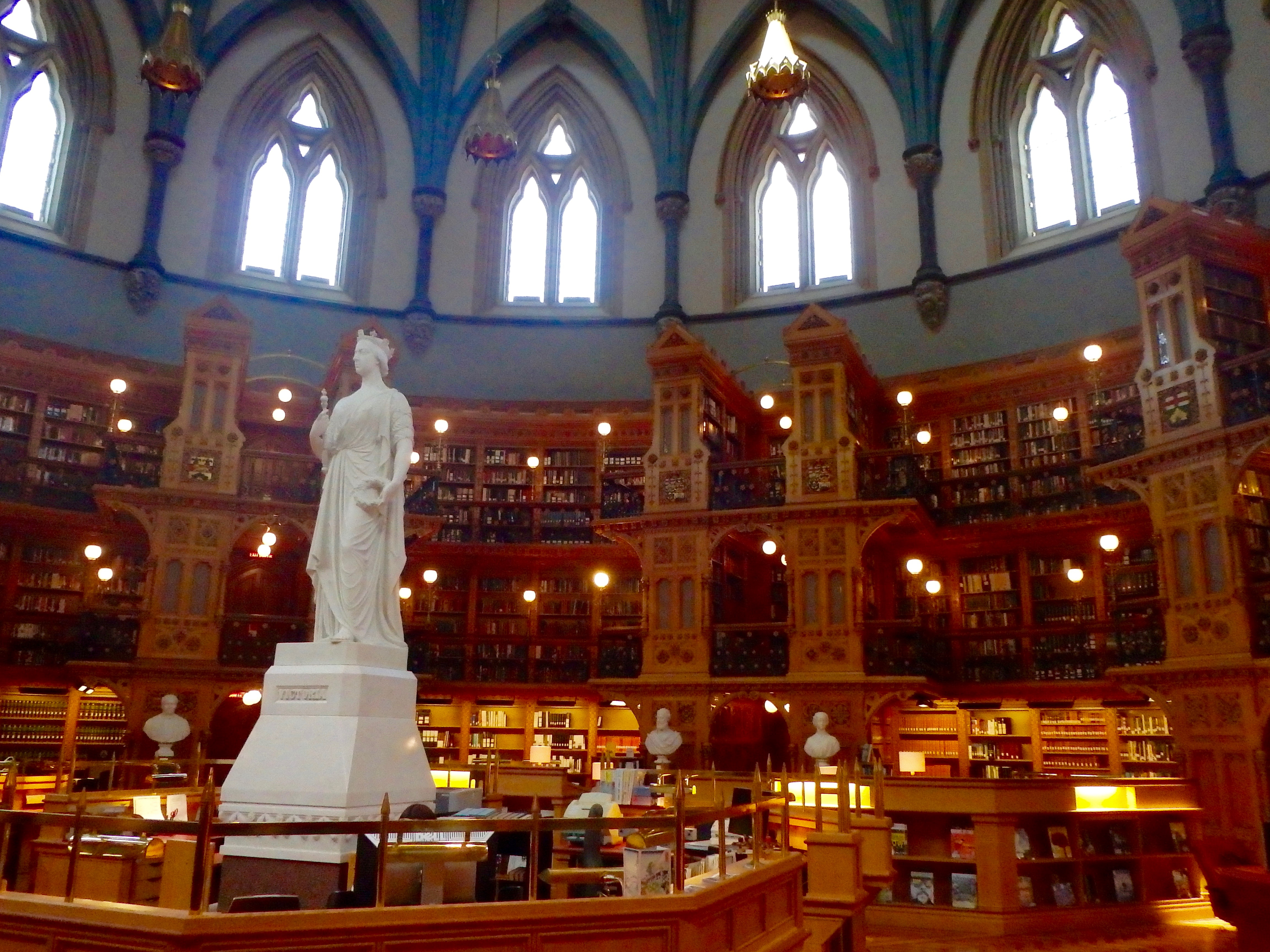 parliamentary library centre blog tour top ottawa attractions