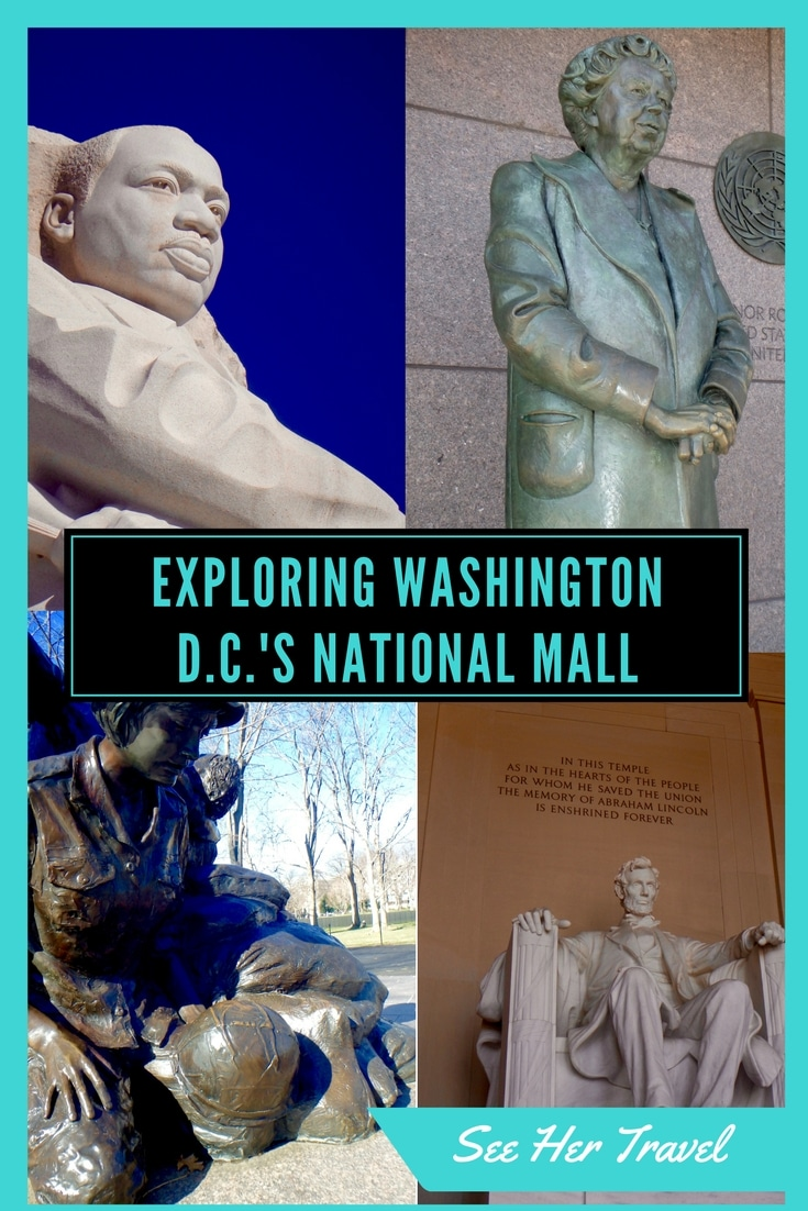 Spend a day exploring the National Mall in Washington D.C. and come face to face with memorable memorials and the brand new African American Museum