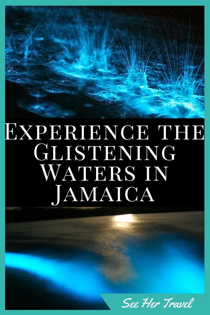 The Glistening Waters in Falmouth Jamaica is an absolute natural phenomenon, one of only 4 such sites in the world where you can float in the night water and literally find your glow!