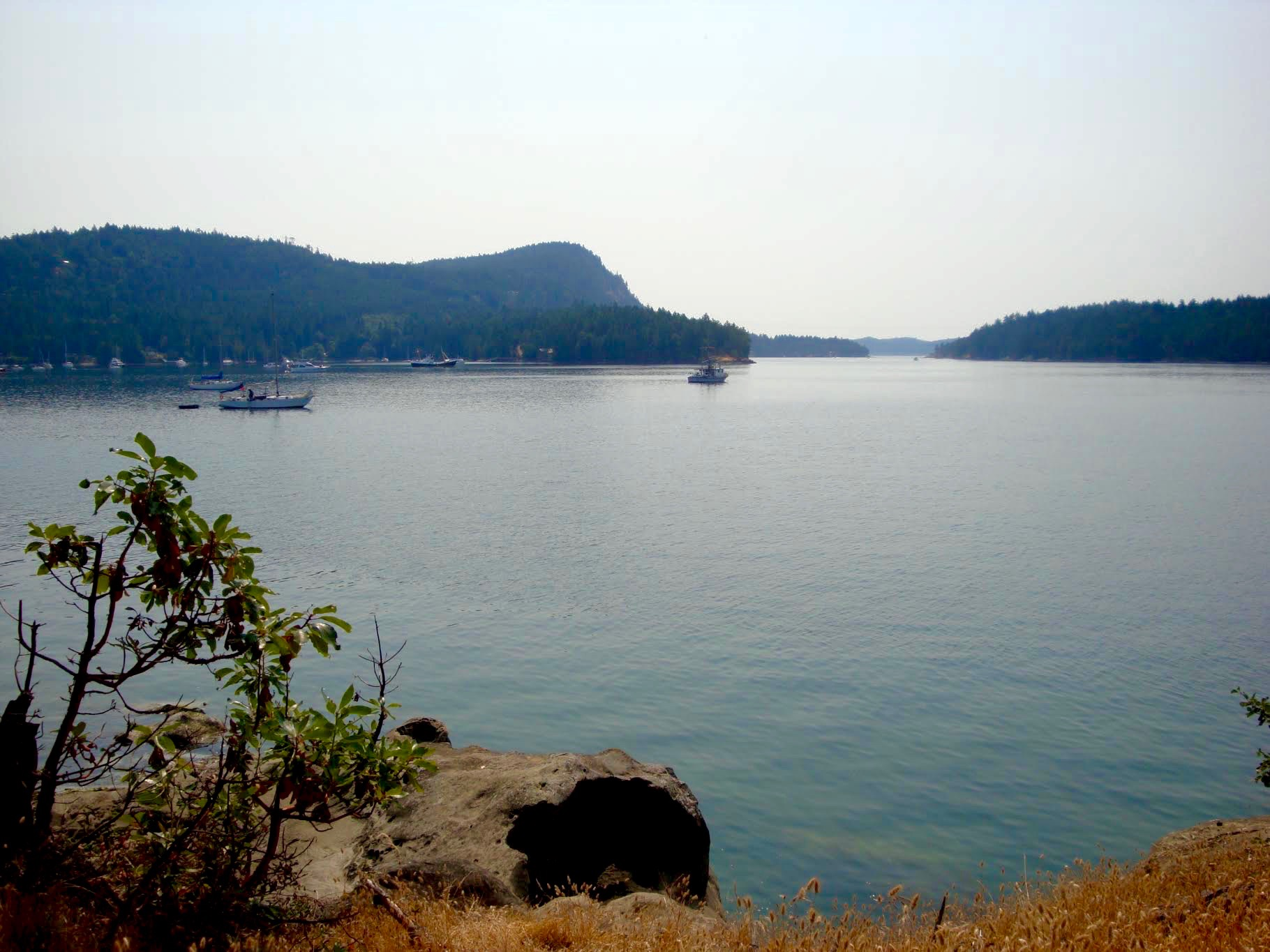 best holidays spots of family in british columbia where to camp in the gulf islands