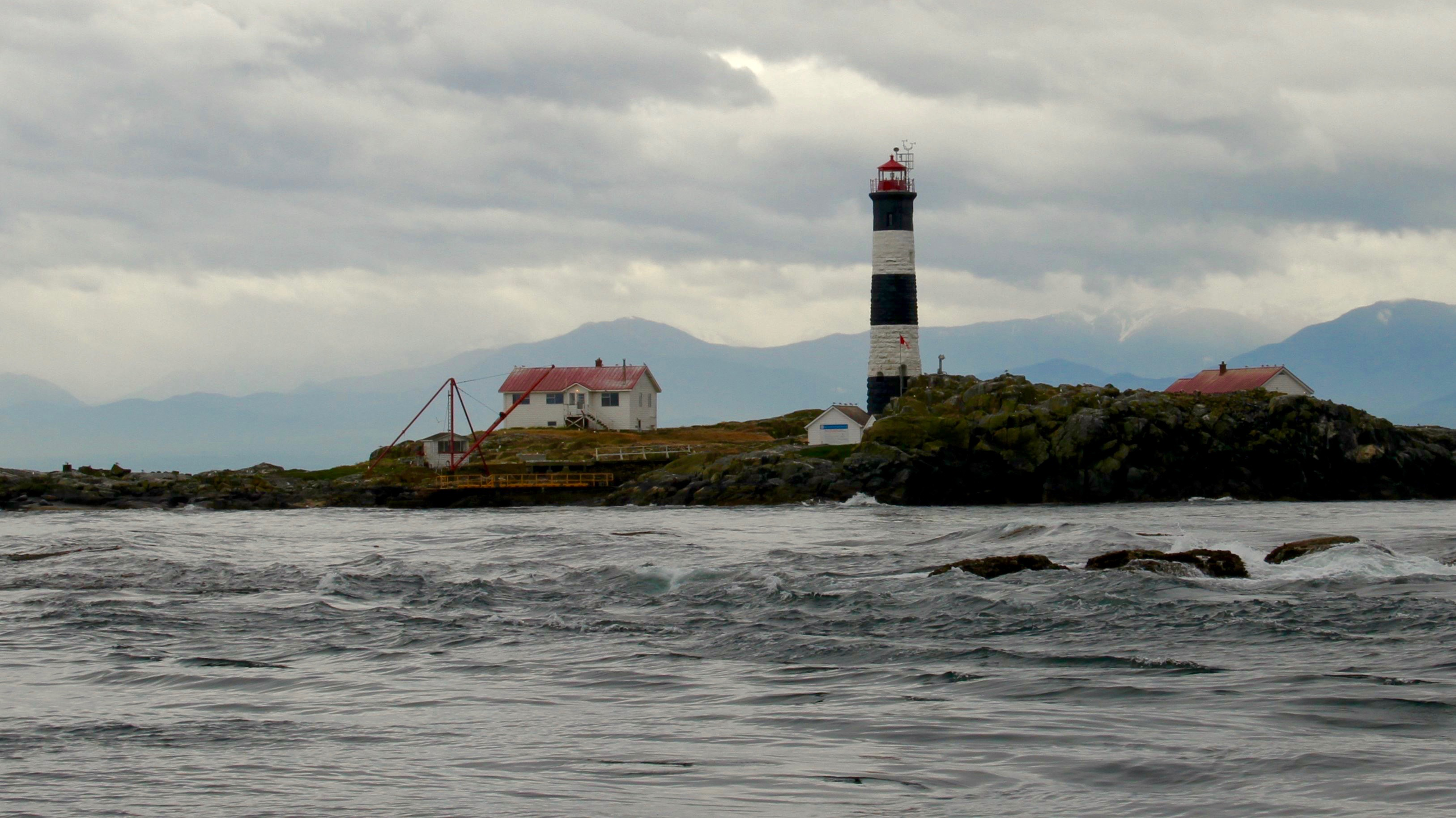 Race Rocks Lighthouse near Victoria BC