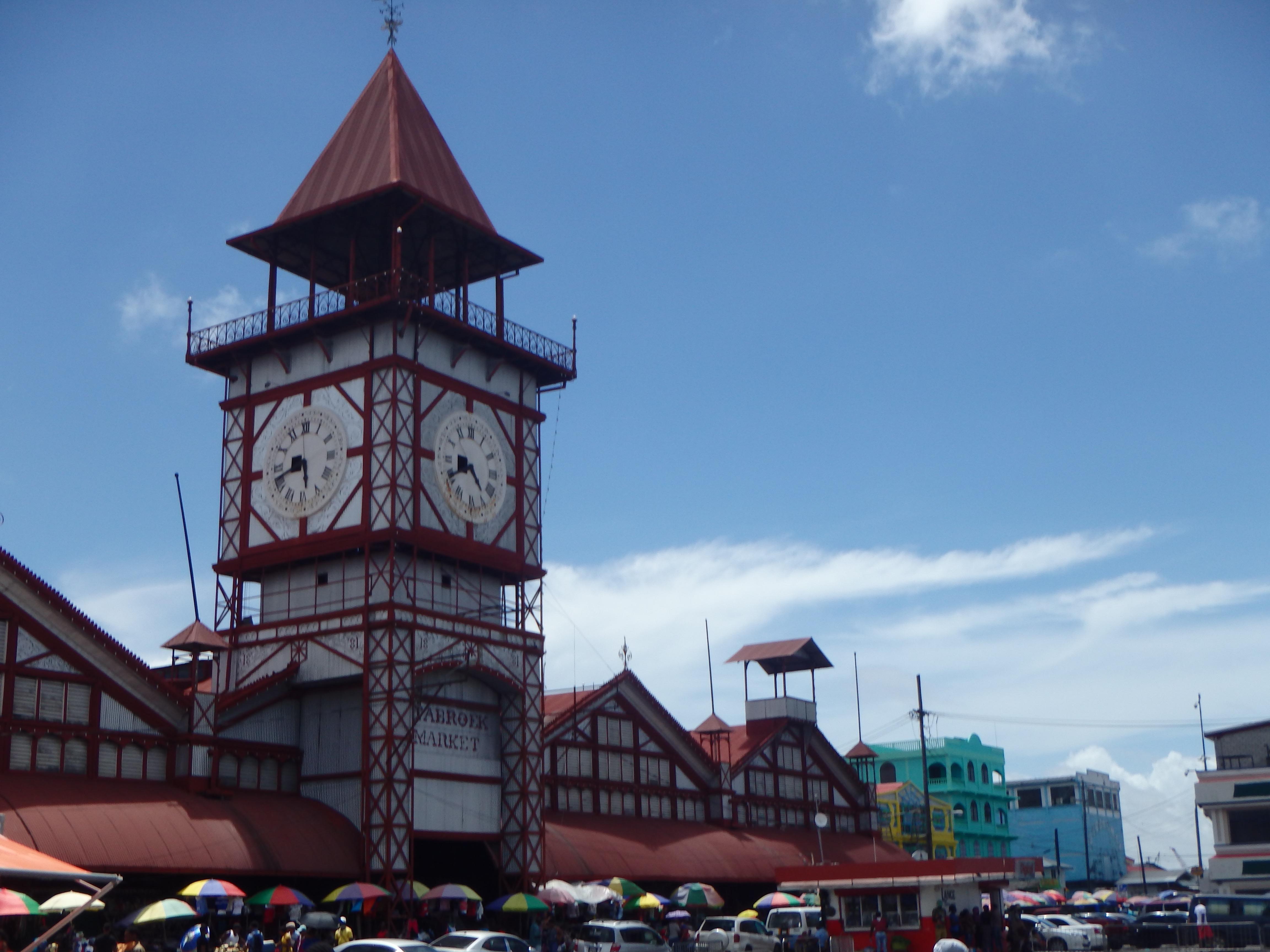 Starbroek market georgetown Guyana places to visit in georgetown guyana markets in south america