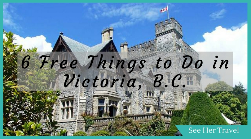 Travel to Victoria BC doesn't have to break the bank. There are many things to do in Victoria, from selk guided walking tours, to history hunting in the Ross Bay Cemetary, to enjoying the natural beauty of Vancouver Island! Here are 6 Free Ways to Enjoy Victoria BC