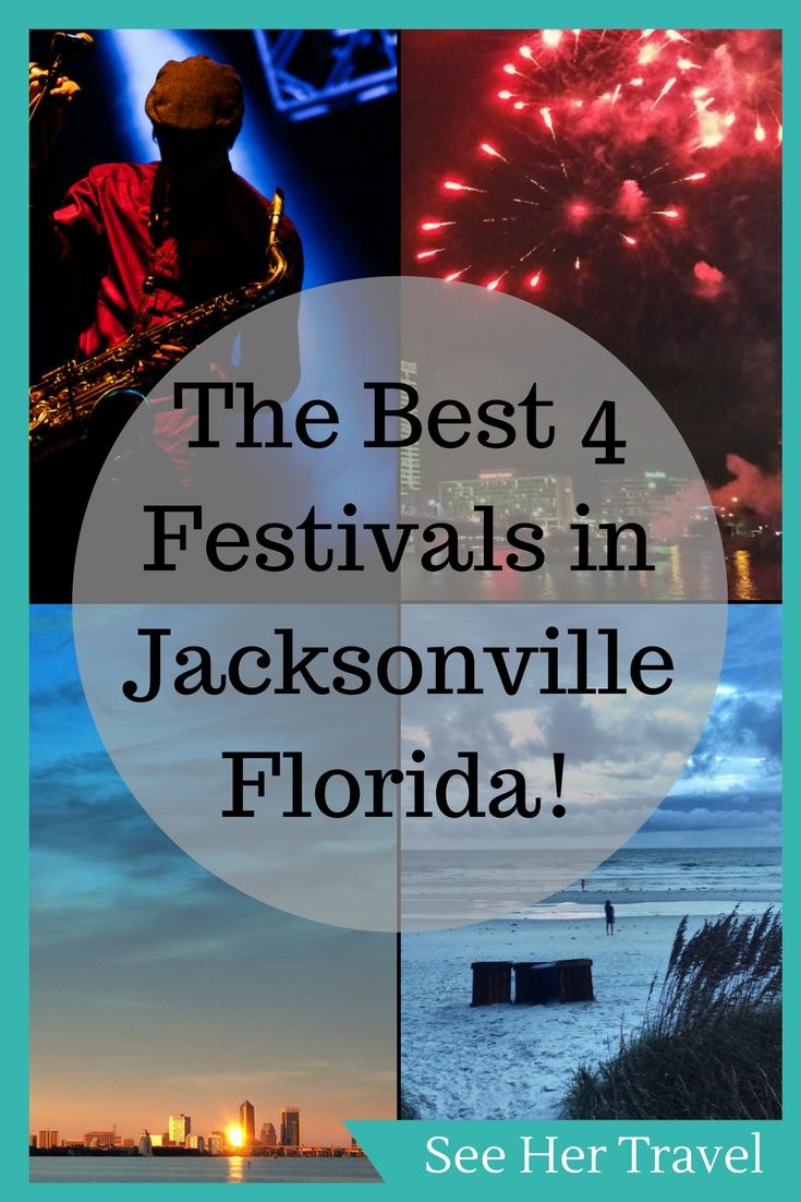 4 World Class Festivals in Jacksonville Florida - See Her Travel