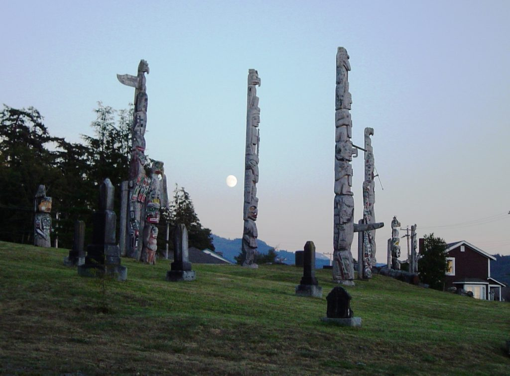 where to find aboriginal totems in BC