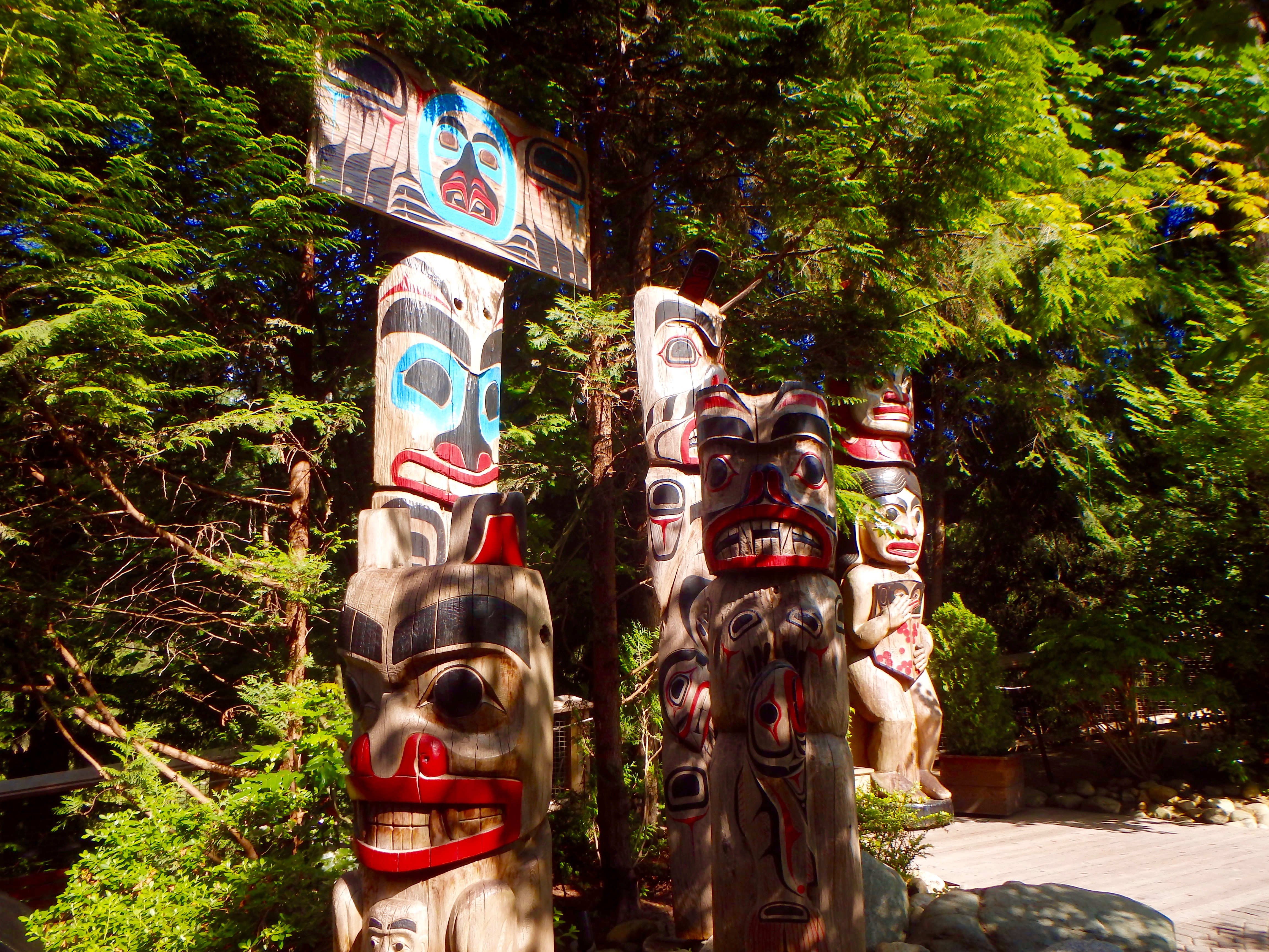 where to see aboriginal totems in vancouver travel blog