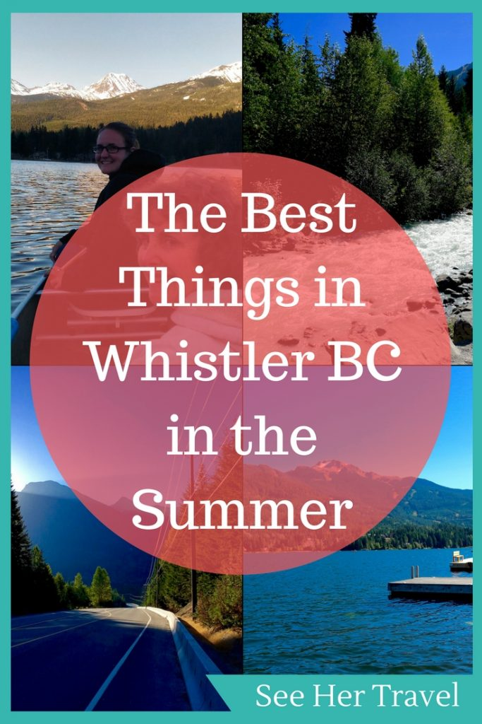 Wondering what to do in Whistler in summer? Despite being a typically winter destination, Whistler BC was some great things to do in the summer. From mountain biking, to rafting, to hiking, and adrenaline filled RZR tours, Whistler BC is a great destination for warm weather lovers!