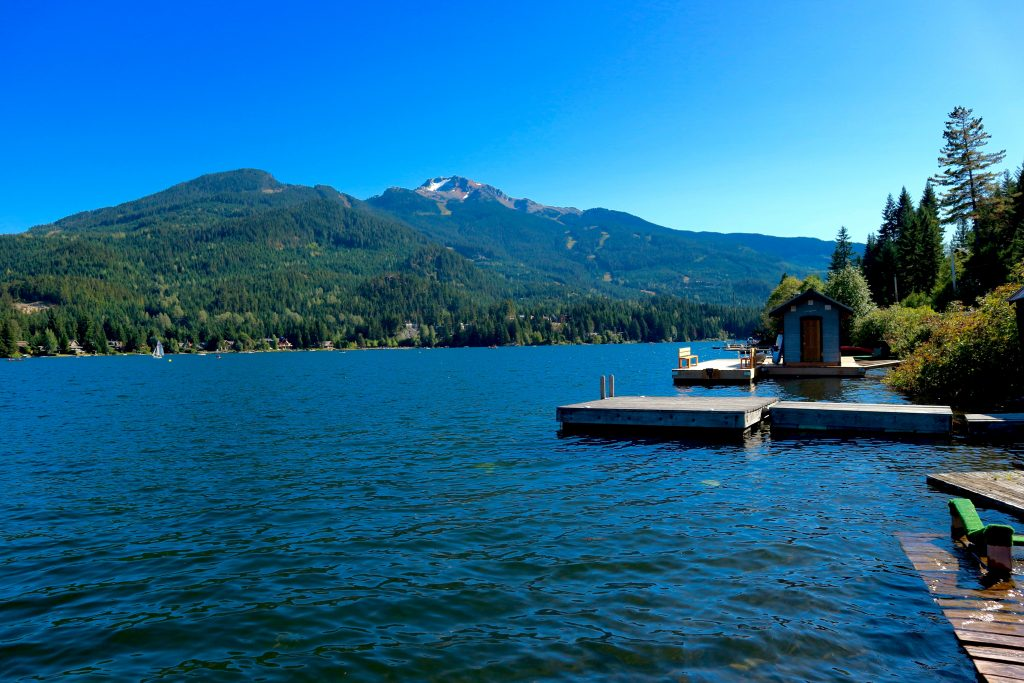 Alta Lake in Whistler things to do in the summer in whistler