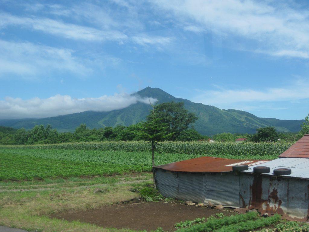 Volcanos in Hokkaido Japan