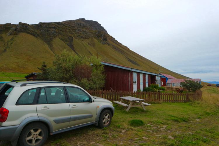 where to stay in westfjords iceland