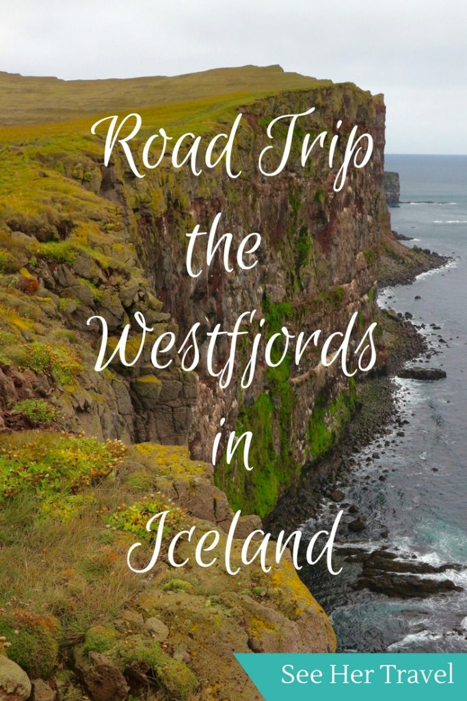 Exploring the Westfjords Iceland is full of beauty, and Dynjandi Waterfall, Raudasandur Pink Beach, and Latrabjarg Cliffs are just the start!