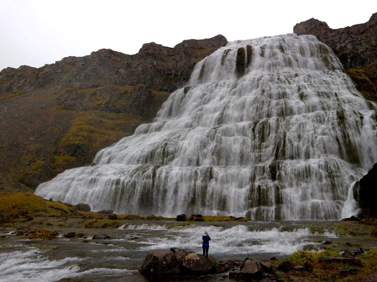 Dynjandi waterfall westfjords iceland
