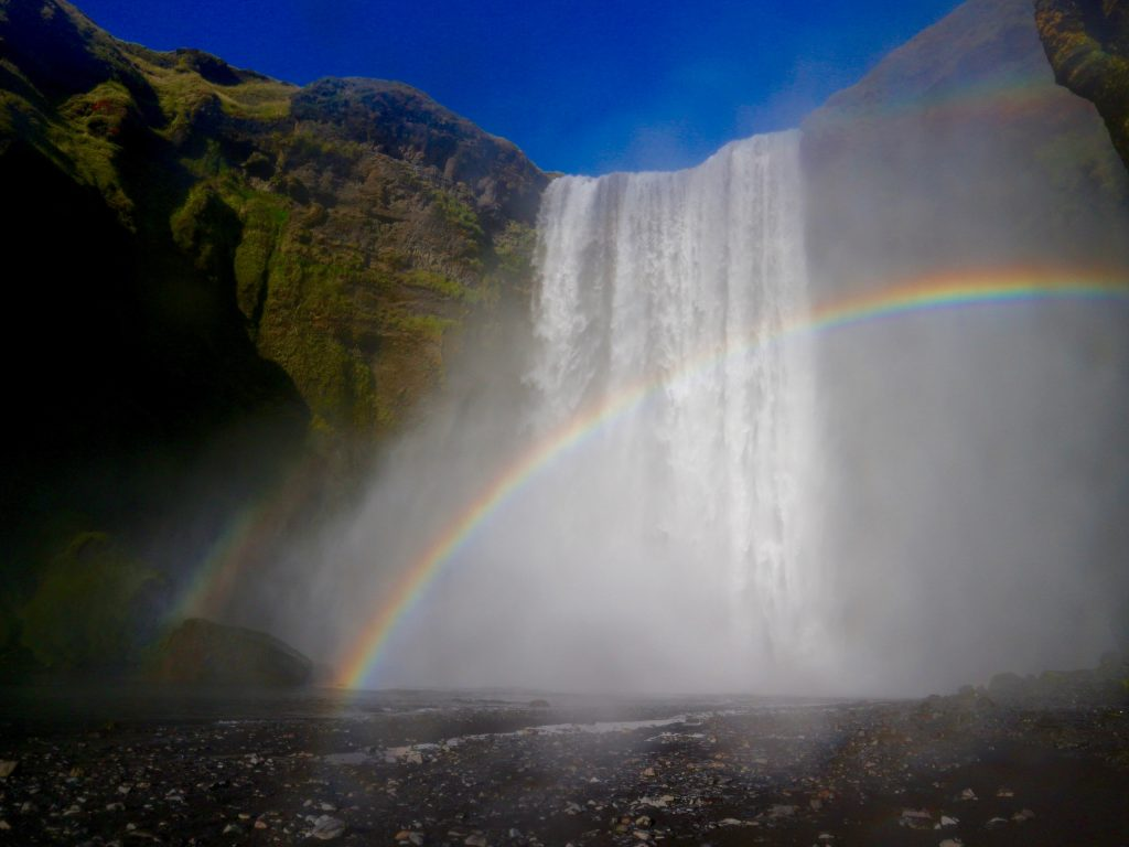 Skogafoss iceland best waterfalls in iceland in september