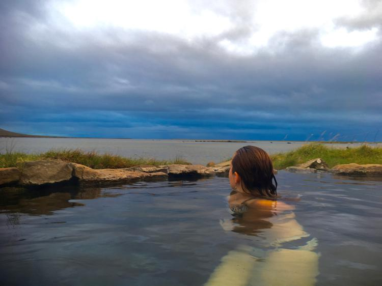 natural hot pool Westfjords iceland where are natural hot pools in iceland