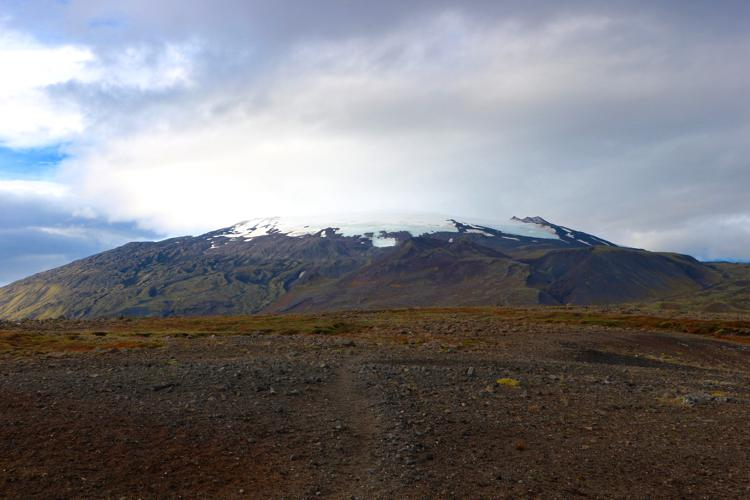 snaefellsnes peninsula iceland snaefellsjokul national park glacier