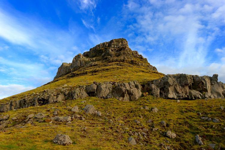 climbing kirkjufell kirkjufell 2 snaefellsnes peninsula iceland