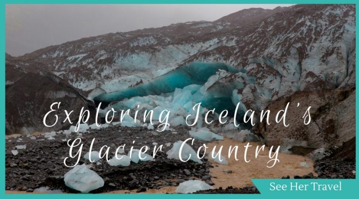 best places to see glaciers in iceland