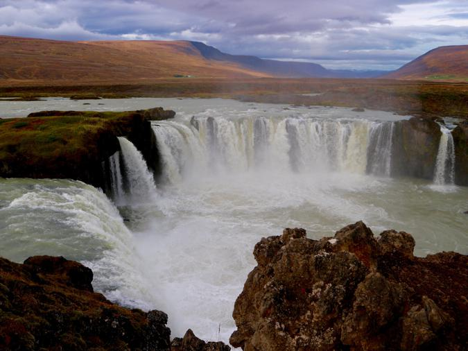Godafoss waterfall iceland waterfalls