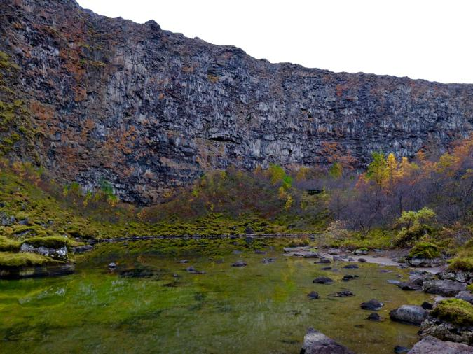 Asbyrgi canyon iceland vatnajokul national park