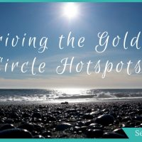 Driving the Golden Circle Spots: Epic Waterfalls, Hot Rivers and a Black Beach