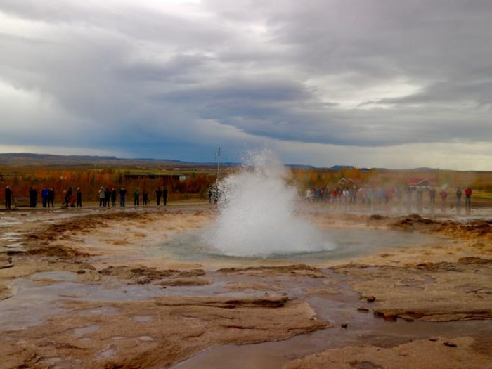 Geysir Golden circle iceland things to do in south iceland for families