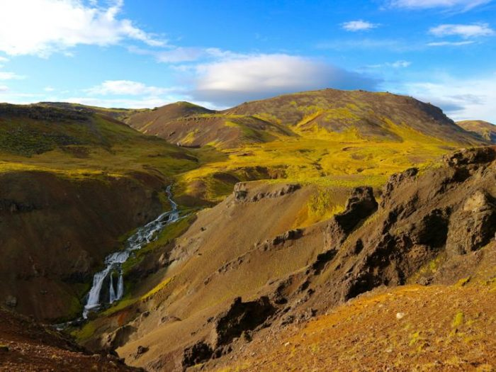 Reykjadalur Hot River Valley southern iceland hot springs