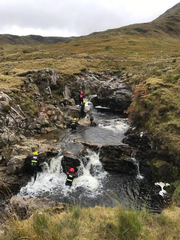 canyoning in ireland outdoor tourism in ireland