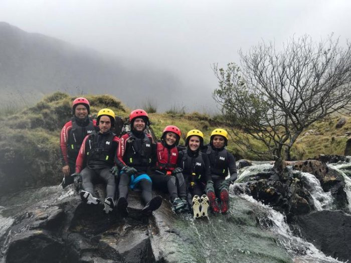 canyoning in ireland adventure travel in ireland