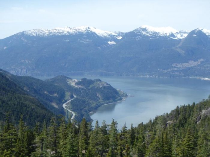 Sea to Summit trail squamish hikes