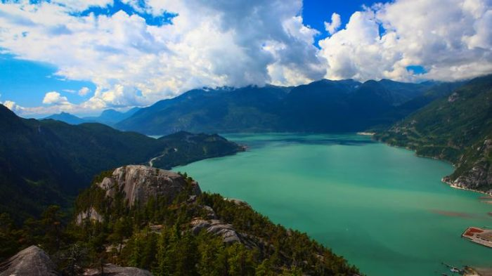 Stawamus Chief hike squamish bc