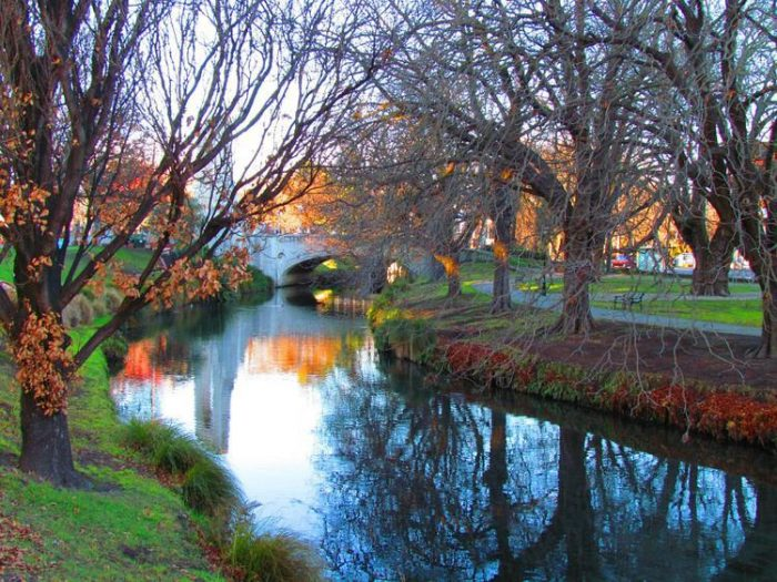 christchurch parks new zealand